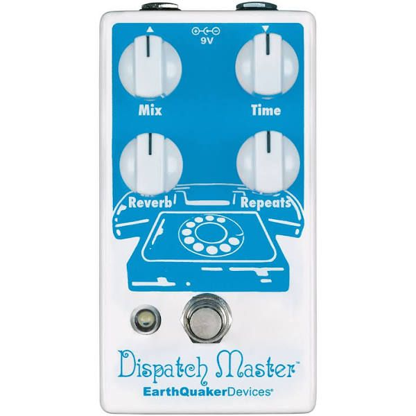Earthquaker Devices Dispatch Master V3 Delay And Reverb